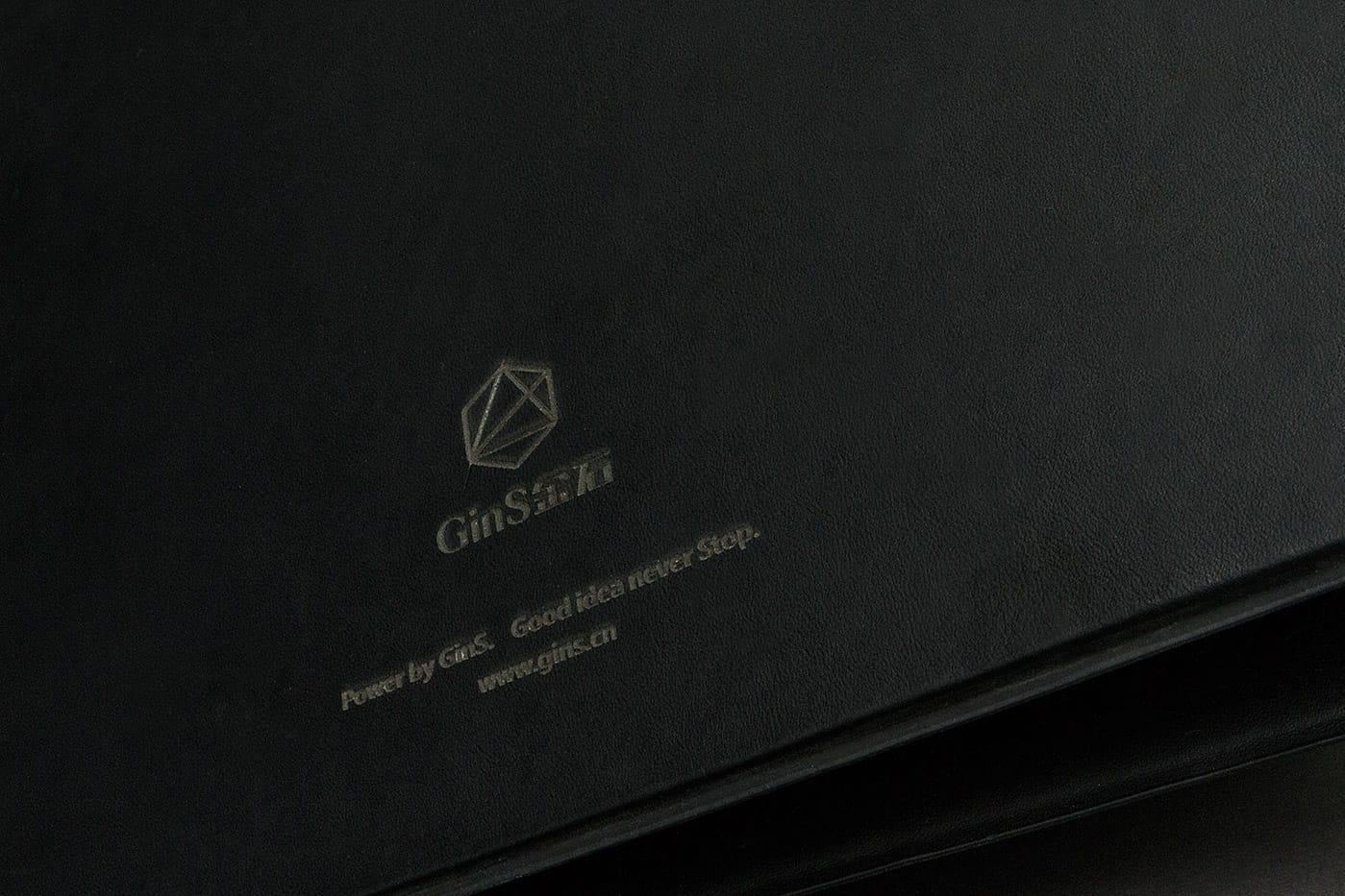 金石品牌广告|文件夹背面