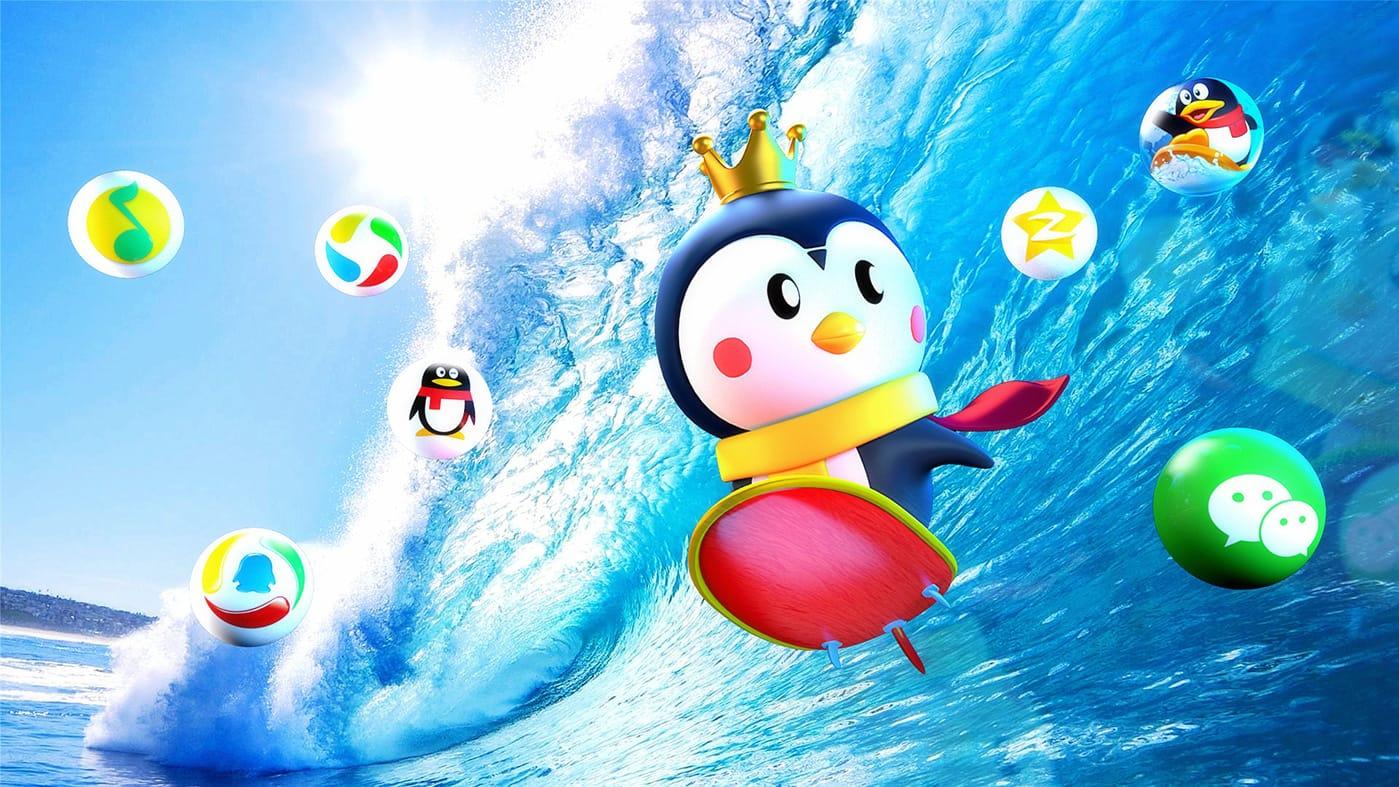 腾讯王卡吉祥物广告007