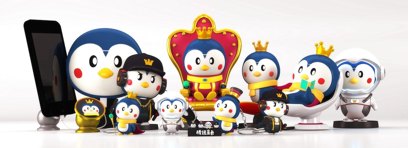 腾讯王卡吉祥物广告
