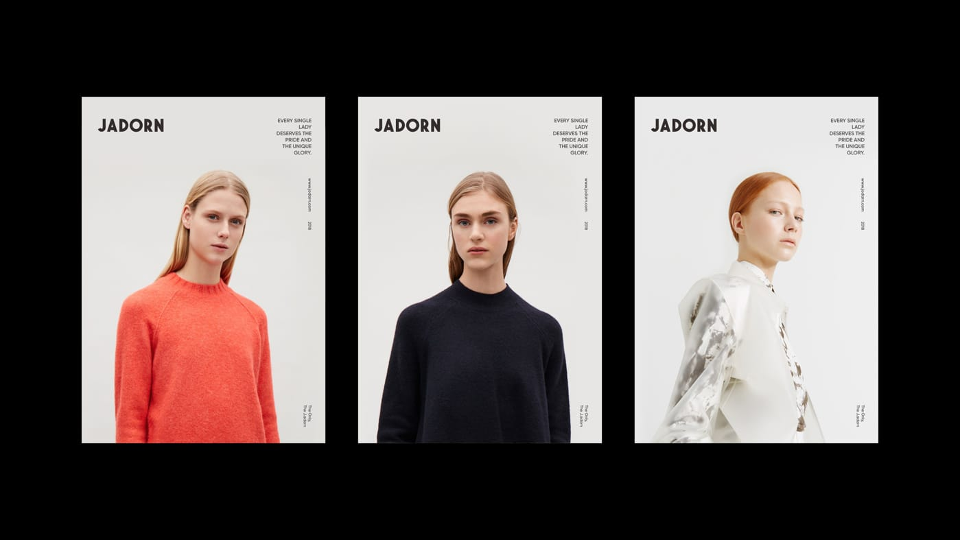JADORN时尚女装品牌广告-09