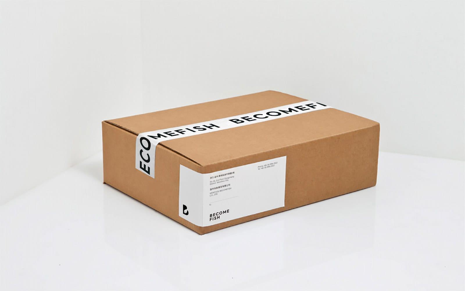 向鱼品牌包装箱