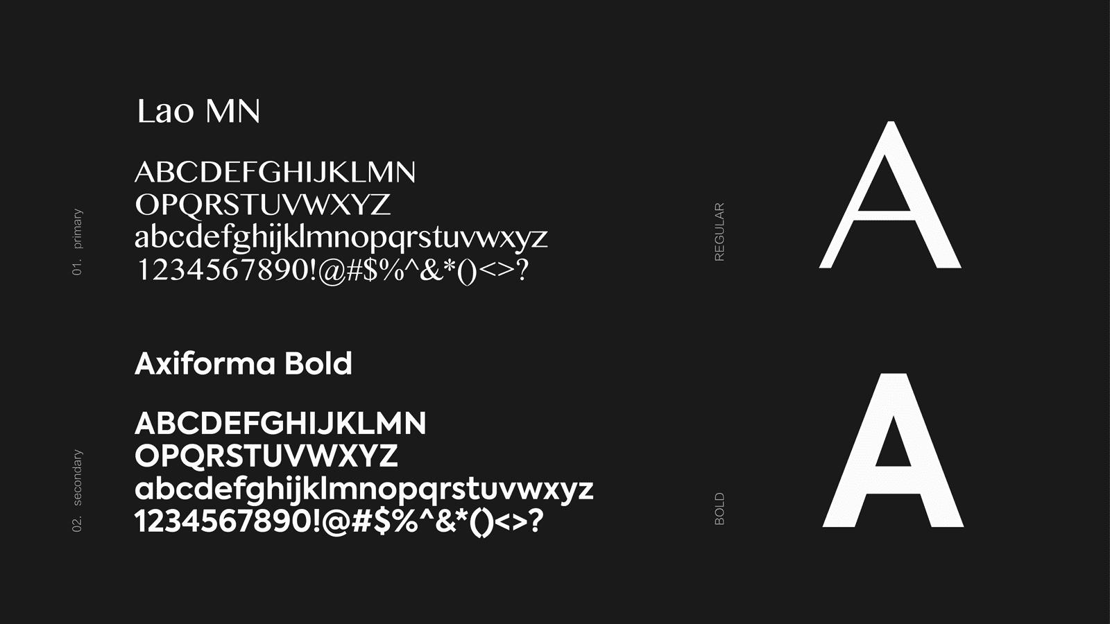 向鱼品牌字体
